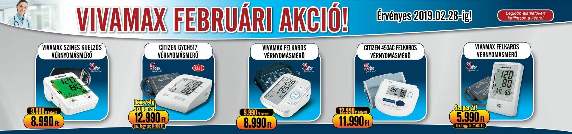 Akciós vérnyomásmérő