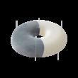Memóriahabos fánk alakú ülőpárna