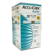 Accu-Chek Active tesztcsík (25 db/doboz)
