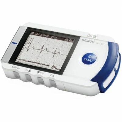 Omron HCG-801 hordozható EKG otthoni használatra