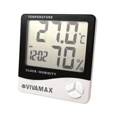 Páratartalom- és hőmérő