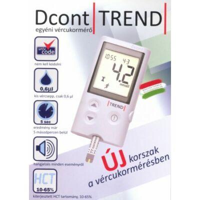 D-Cont Trend vércukorszintmérő