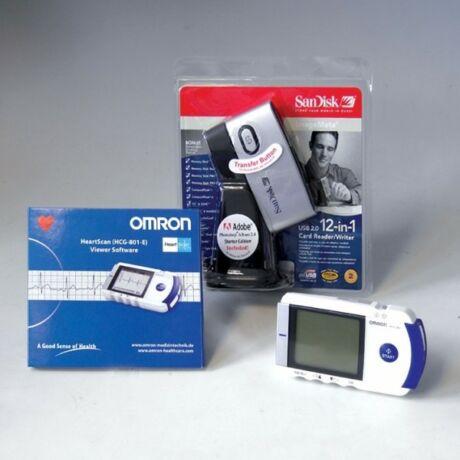 Kiegészítő szett Omron HCG-801 hordozható EKG-hez