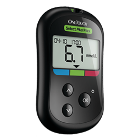 One Touch Select Plus Flex vércukorszintmérő