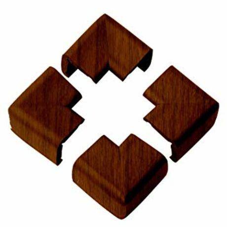 Clevamama sarokvédő fa színű 4 db + kétoldalú ragasztócsíkok