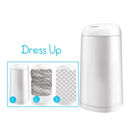 Angelcare használt-pelenka tároló Dress Up huzat