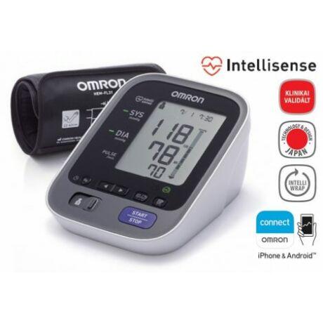 """OMRON M7 Intelli IT """"okos"""" vérnyomásmérő készülék"""