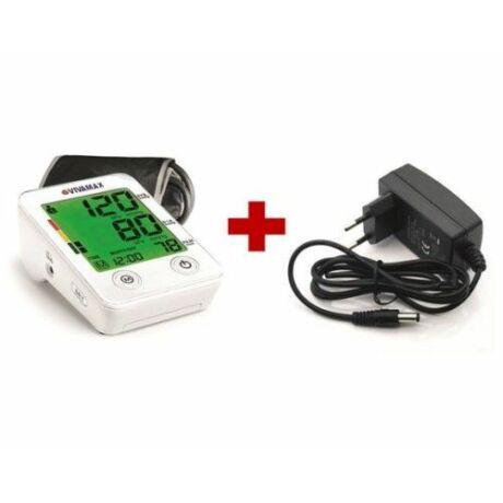 Színes kijelzős felkaros vérnyomásmérő +ADAPTER