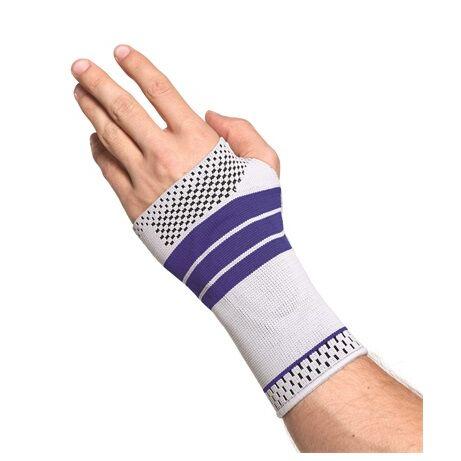 OrtoCare csukló- és kézfejszorító szilikon betéttel