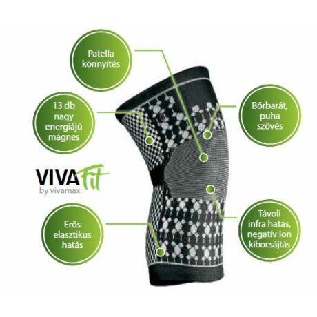 VivaFit mágneses térdszorító turmalinnal