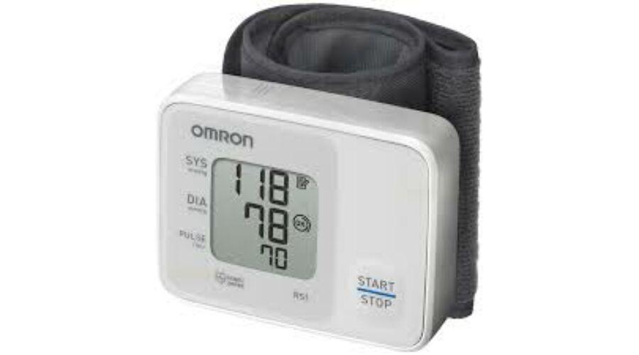 Omron RS1 csuklós vérnyomásmérő, 13.730 Ft áron, Vérnyomásmérő
